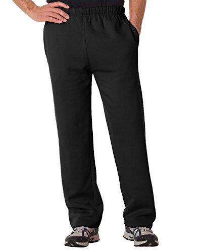 Badger Adult Multi-Needle Elastic Waistband Pant, Blk, XXX-Large