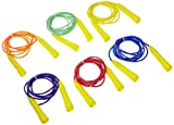 Sportime Jump Ropes, 8 Feet, Assorted Colors, Set of 6