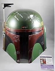 Jeremy Bulloch Signed Full Size Boba Fett Star Wars Helmet w/JSA COA