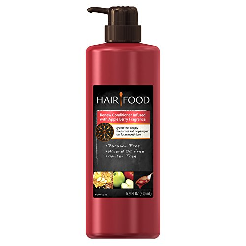 (Hair Food Renew Conditioner with Apple Berry Fragrance, 17.9 Fluid Ounce )