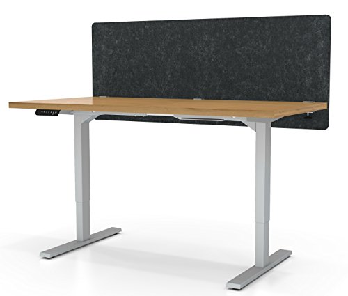 VaRoom Acoustic Partition, Sound Absorbing Desk Divider - 60