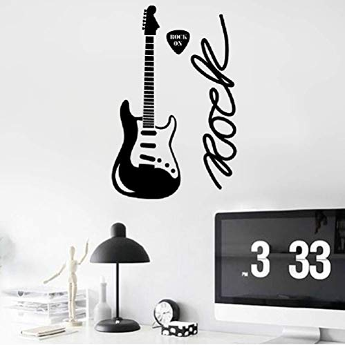 Saztry DIY Removable Vinyl Decal Mural Letter Wall Sticker French Rock On Rock On