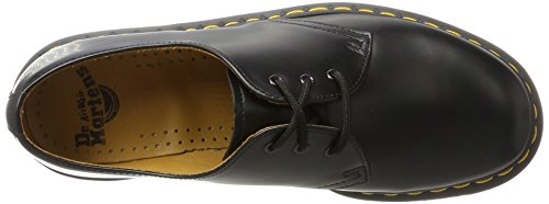 Dr. Martens 1461 Black Smooth Men Black Leather Shoes