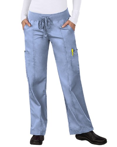 Peaches Uniforms Women's Comfort Scrub Pant (Ceil, MD Petite) (Peaches Comfort Scrub Pant compare prices)