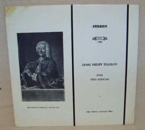 Baroque Recorder Sonatas - Georg Philipp Telemann: Five Trio Sonatas, Volume II