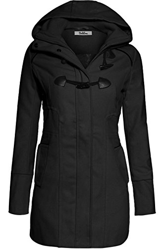 bodilove-womens-sophisticated-duffle-coat-with-detachable-hood-black-s-jw2095-heather-gray-outerwear