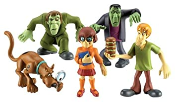 Mates Misterio Scooby Doo  Scooby y The Monsters 5 Figura Pack