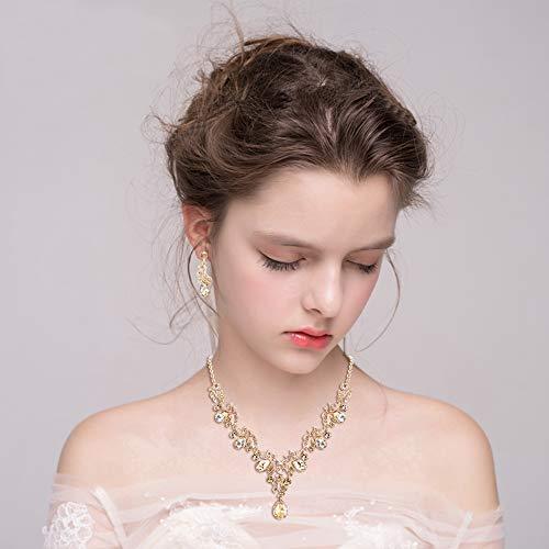 Buy art deco necklace set