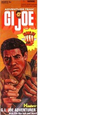 "12"" GI Joe Adventure Team African American Adventurer With Kung-Fu Grip Action Figure"