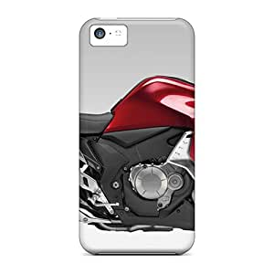 New 2010 Honda Vfr1200f Bike Widescreen Tpu Skin Case Compatible With Iphone 5c