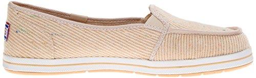 Skechers Gafas de Kick Start azul marino mujer? s soporte de comodidad zapatos Metálico natural