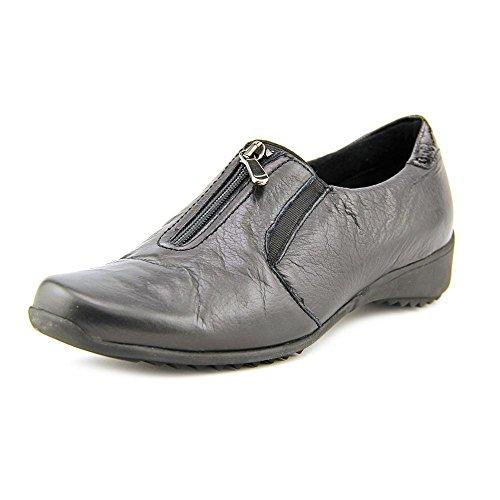 Munro Women's Berkley Black Leather (8 Medium, Black) (Munro Walking Shoes)