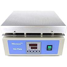 """Large Digital Hot Plate, 12"""" x 12"""" Panel, 350°C, 110V"""