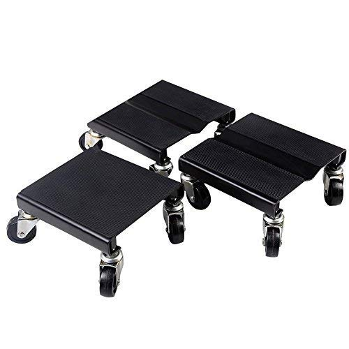 3 PC Snowmobile Dolly Set Snow Mobile Moving Rollers Dollies Movers 1500 LBS (Best All Around Snowmobile)