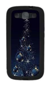 CreAtive ChrIsmas Tree TPU Case Cover for Samsung Galaxy S3 and Samsung Galaxy I9300 Black