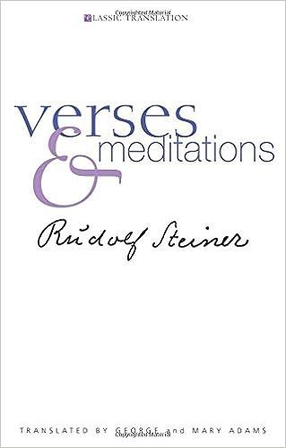 Verses and Meditations (Classic Translation)
