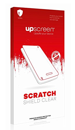 upscreen Scratch Shield Clear Screen Protector for Prestigio Wize O3, Strong Scratch Protection, High Transparency, Multitouch optimized