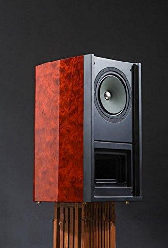 GOWE Full Range Hifi Bookshelf Speaker Magnetic Steel Labyrinth Cabinet Design