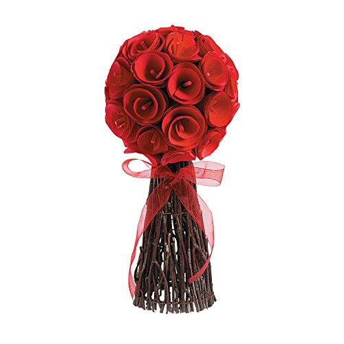 - Red Rose Topiary
