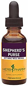 Herb Pharm Certified Organic Shepherd's Purse Extract - 1 Ounce