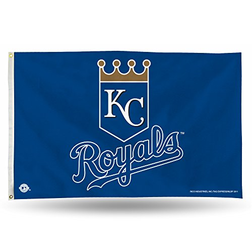 Kansas City Royals Official MLB 3' x 5' Banner Flag by Rico Industries by Rico Industries-Tag Express