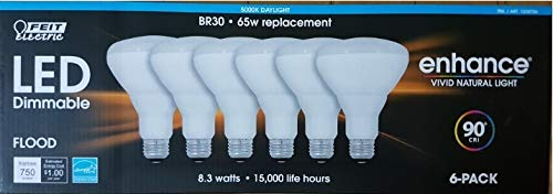 feit electric 65 watt led br30 - 5