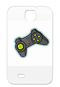 Tear-resistant Controller TPU Video Games Geek Gaming Gray For Sumsang Galaxy S4 Protective Hard Case
