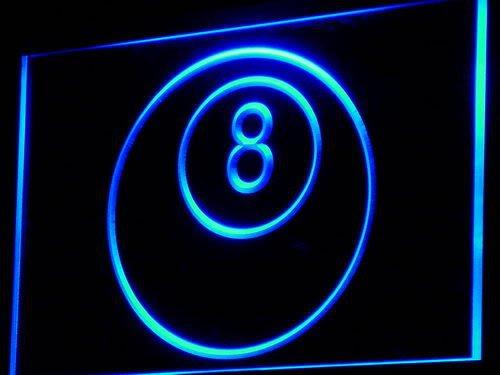 Ball Billiards Neon Sign - 8