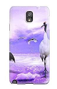 New Arrival Galaxy Note 3 Case Red Crowned Cranes Japan Case Cover by lolosakes