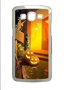 Halloween 2 Custom Samsung Grand 7106/Samsung Grand 2 Case Cover Polycarbonate Transparent