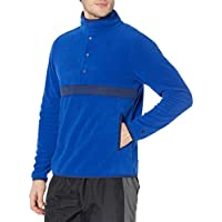 Starter Men's Polar Fleece Snap-Collar Pullover Jacket Deals
