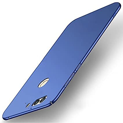 save off 2aeae 124b3 DIFAL CASE Huawei Honor 7c Back Cover - Blue: Amazon.in: Electronics