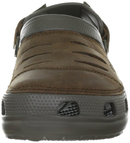 Crocs Men's Yukon Clogs Brown (Chocolate/Chocolate) dHNYibC8IX