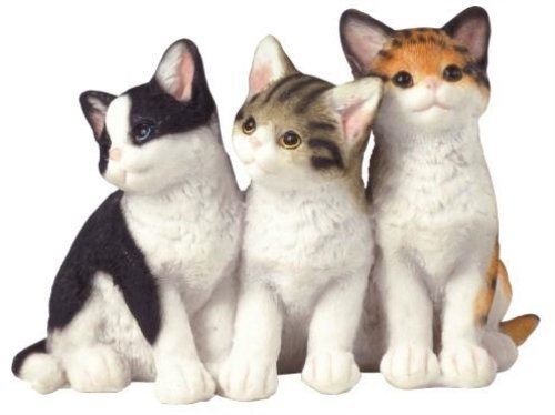 George S. Chen Imports SS-G-18055 Cat Collection Feline Animal Decoration Figurine Decor Collectible ()