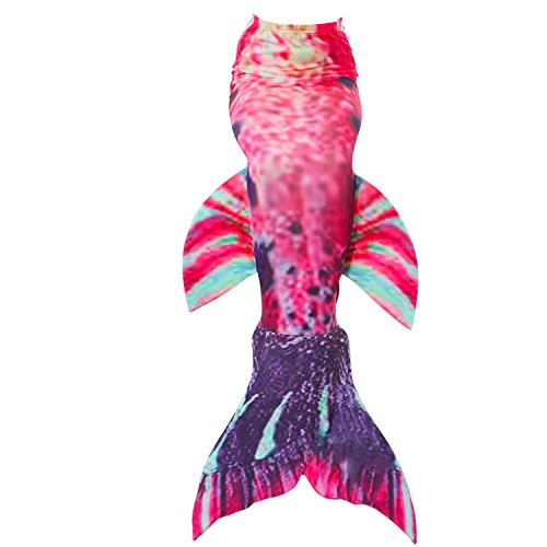 Fanryn Mermaid Tail Swimmable Mermaid Tails for Swimming by Girls,Boys,Kids and Adults Sizes Costume Swimsuit Can Match Monofin - Children's Vicar Costume