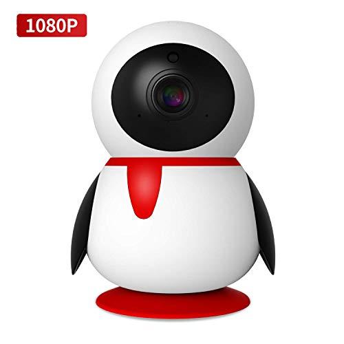 SECshot Wireless 1080P Security Camera, WiFi Home Surveillance IP Camera for Baby Elder Pet Nanny Monitor, Pan Tilt iPC, Two-Way Audio Night Vision