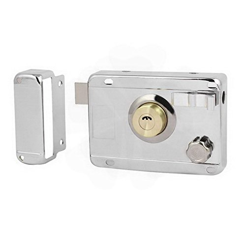 Latches Home Door Gate Safety Vertical Keyway Cylinder Deadbolt Rim Lock Set By Houseuse