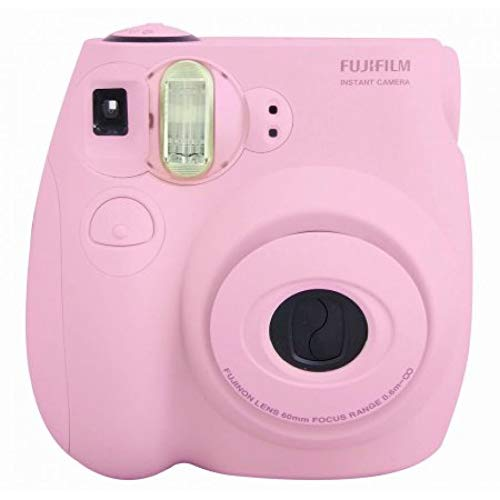 Fujifilm Instax Mini 7S Instant Camera (Light Pink) (Renewed)