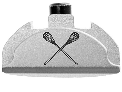 NDZ Performance for Glock Gen 4-5 Grip Frame Slug Plug AL9 With Backstrap Installed Silver Lacrosse Sticks by NDZ Performance