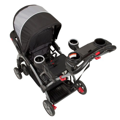 baby trend sit n stand ultra tandem stroller phantom new. Black Bedroom Furniture Sets. Home Design Ideas