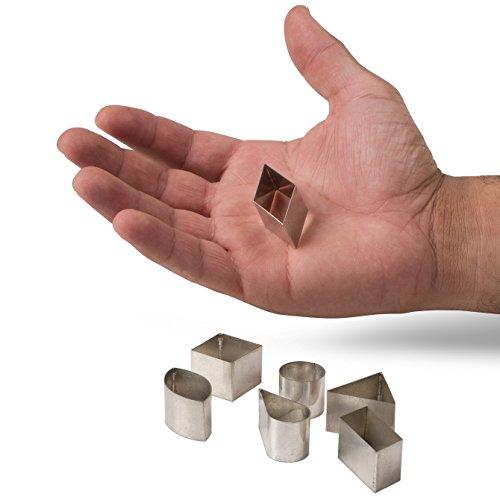 JB Prince 42-Piece Geometric Cutter Set