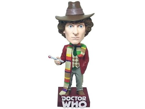 Doctor Doctor Doctor Who Tom Baker 4th Doctor Bobble Head b6019a