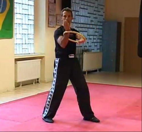 Pepional Kung Fu Ring Wing Chun Kung Fu Ring Bambus Handgelenk Kraft Hand Flexibilit/ät Training Kampfkunst Trainer
