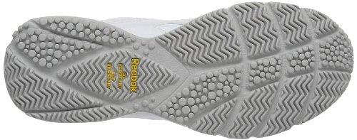 Reebok  WORK N CUSHION KC, Chaussures dathlétisme homme Blanc - Weiß (WHITE)