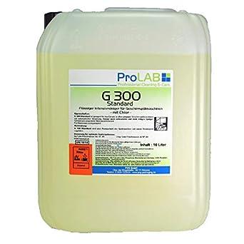 10 l bidón Pro DP profesional lavavajillas detergente para ...