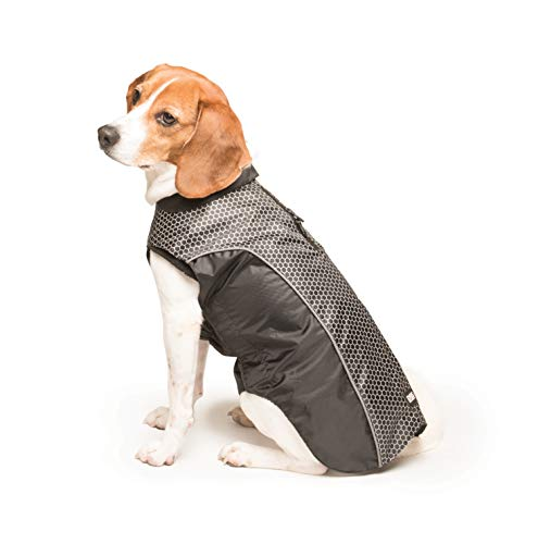 Dog Gone Smart Meteor Nanobreaker Hexagon Jacket, Black, 20