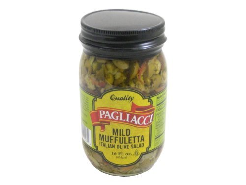 Pagliacci - HOT Italian Olive Salad (Muffuletta), (2)- 16 oz. Jars