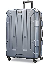 Centric Hardside Expandable Luggage with Spinner Wheels, Blue Slate