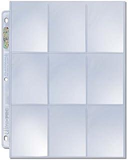 x5 Ultra Pro Premium Hologram Premium 9 Pocket Side Loading Trading Card Pages