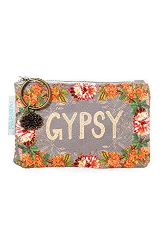 Papaya Art Gypsy Peach Coin Purse by Papaya Art